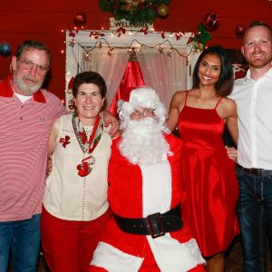 The Millers and Santa
