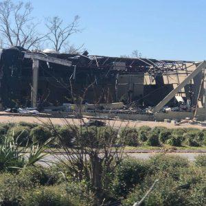 Commerical buidling business destruction