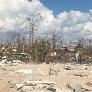 Mexico Beach, FL damage from Hurricane Michael