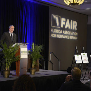 Governor Bush addressing FAIR Conference 00895