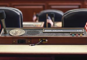 House Speaker desk CU (committee legislature)