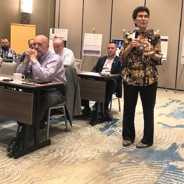 Florida Claims Defense Network conference with insurance instructor Lisa Miller
