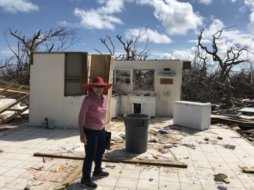 Hurricane Dorian destruction in Green Turtle Cay, Bahamas