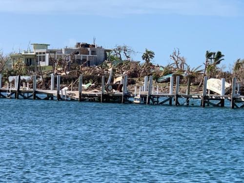Hurricane Dorian Green Turle Cay Bahamas damage