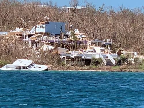 Hurricane Dorian Bahamas destruction